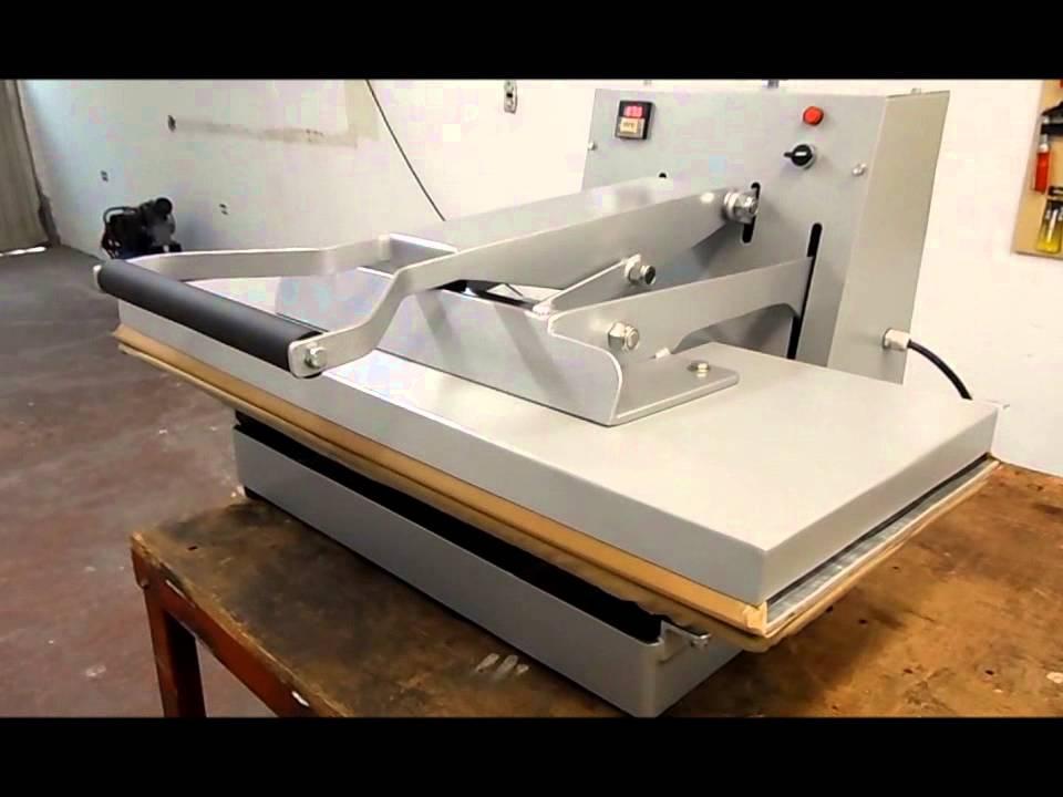Planchas industriales tipo prensa neum ticas y manuales for Plancha industrial