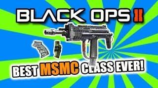 black ops 2 best smg class setup msmc