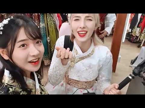 JinMie Cùng Tham Gia Lễ Hội Hóa Trang Tại Seoul