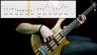 Alter Bridge - Cry Of Achilles (Bass Cover) (Play Along Tabs In Video)