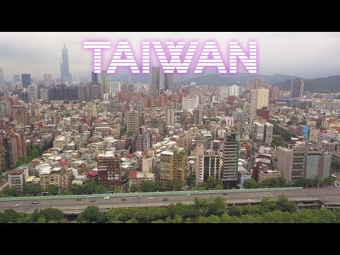 Taiwan Travel by Drone 2017