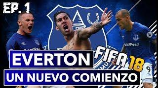 Fifa 18 Modo Carrera!! Everton un Nuevo Comienzo!! Firmino en el Everton?! Ep 1