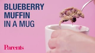 Blueberry Muffin in a Mug | Parents