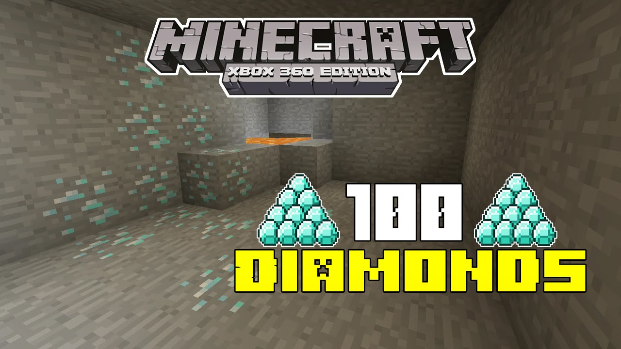 Minecraft Xbox 360 Xbox One Ps3 Ps4 100 Diamond Seed Seed Spotlight 10 Youtube