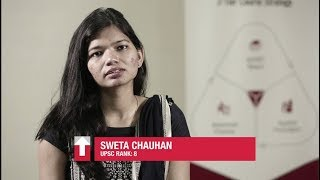 Sweta Chauhan, UPSC 17, Rank 8 on Unique Shiksha