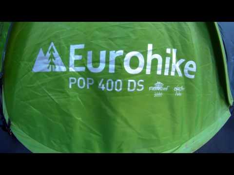 best sneakers 6a49e b9c5b Eurohike pop 400 DS - YouTube