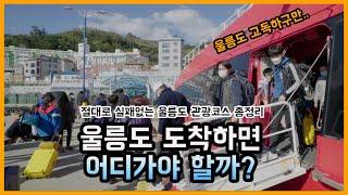 절대로 실패없는 울릉도 여행 관광지 총정리! |  Ul…