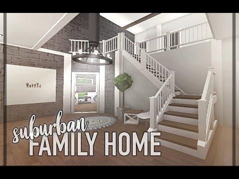 bloxburg: suburban family home