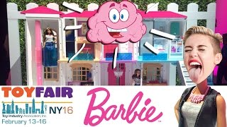 Говорящий Дом Барби, Барби Майли Сайрус, Barbie Toy Fair 2016