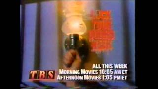 TBS Commercials (10-28-1990)