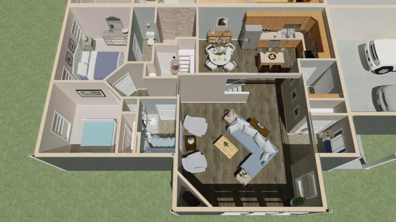 Custom Twin Home Plan   Wausau Homes Eldridge, IA   Friis Residence