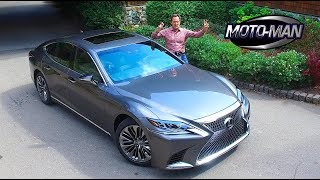 2018 Lexus LS 500 Twin Turbo FIRST DRIVE REVIEW (2 of 3)