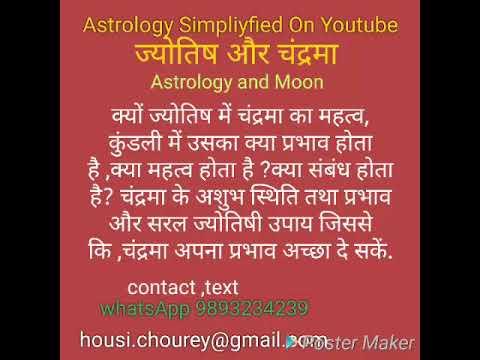 क्यों ज्योतिष में चंद्रमा का महत्व, उपाय Astrology and Moon, Remedies of the Moon,