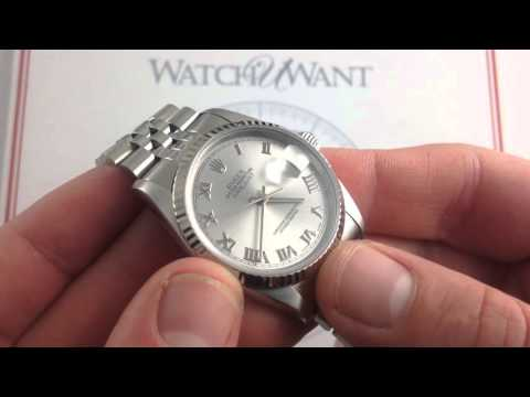 Rolex Oyster Perpetual Datejust 16234 Luxury Watch Review