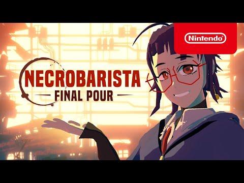 Necrobarista: Final Pour - Announcement Trailer - Nintendo Switch