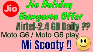Tech news || Jio hungama Offer, Moto G6,One plus 6 Avengers edition sale, xiaomi mi scooty ||