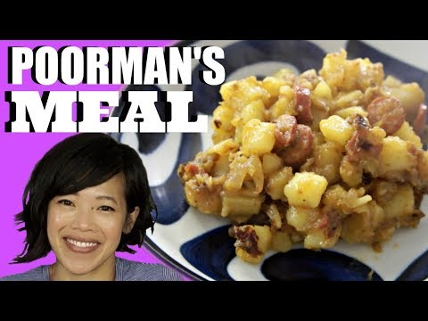 Clara's Great Depression POORMAN'S MEAL & Potato Peel Chips | HARD TIMES thumbnail