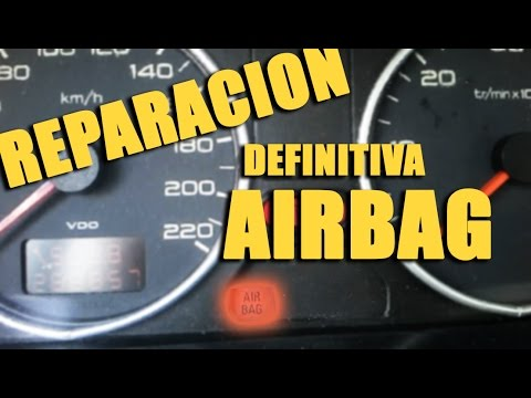 how to fix airbag light