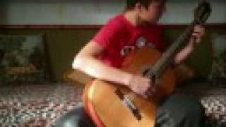 Galop by Pavel from Russia (classic guitar)