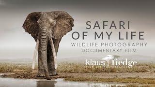 Safari of my Life - Wildlife Photography Documentary with Klaus Tiedge