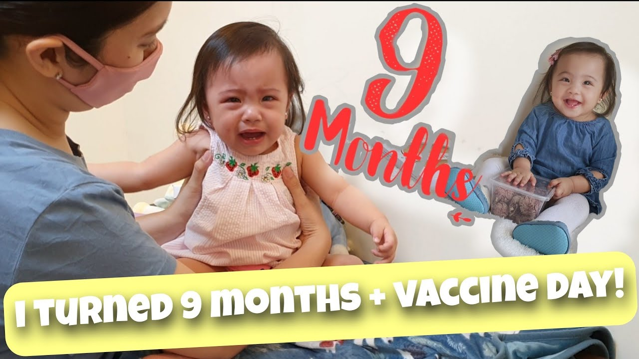 VACCINE DAY AND 9TH MONTH CELEBRATION | LITTLE GWEN | PHILIPPINES