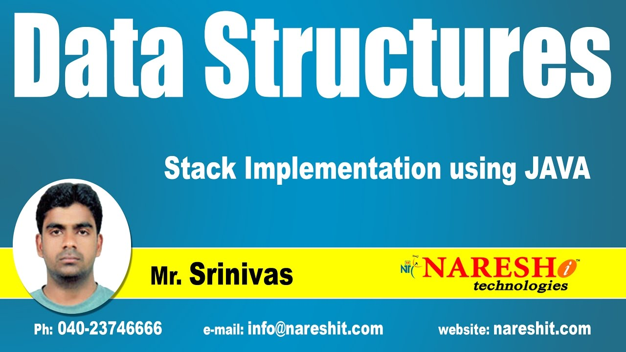Stack implementation using java data structures tutorial mr stack implementation using java data structures tutorial mr srinivas baditri Image collections