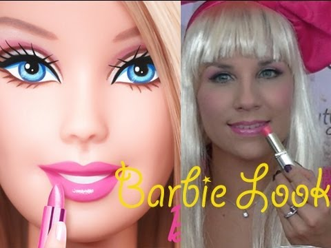 maquillage halloween barbie the beauty progress youtube. Black Bedroom Furniture Sets. Home Design Ideas