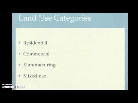 Land Use Planning Tools