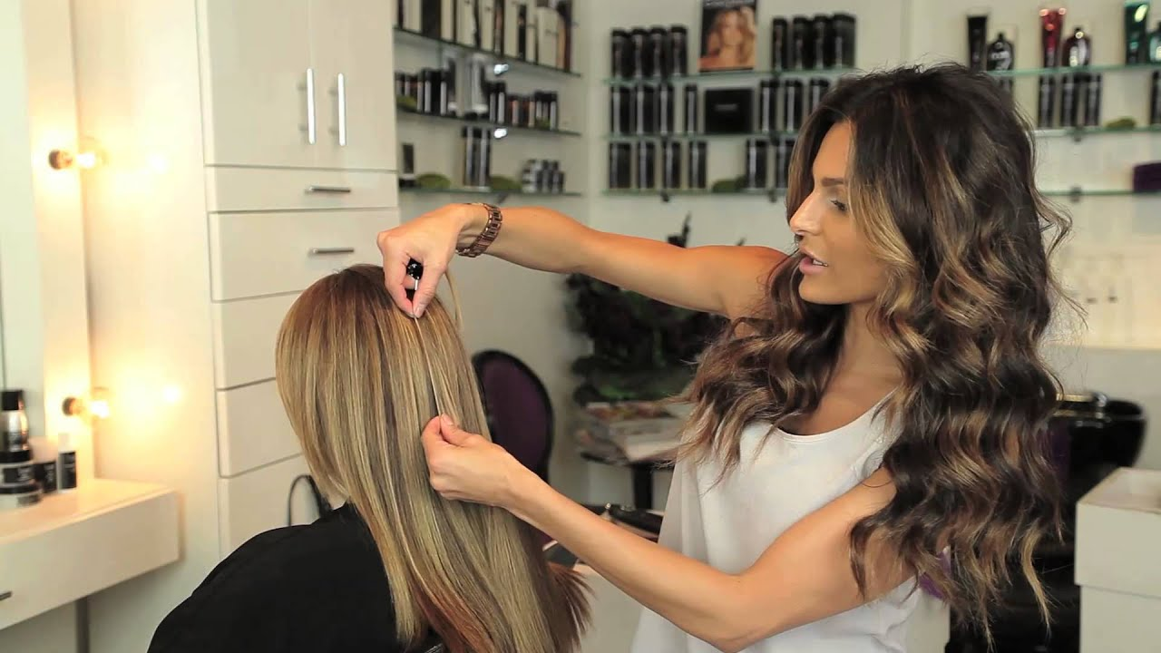 How To Color Match Cashmere Hair Extensions YouTube