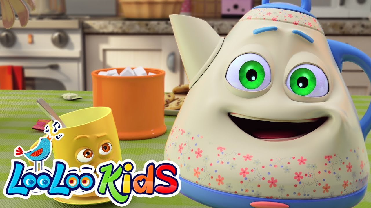 Im a Little Teapot - Great Songs for Children   LooLoo Kids