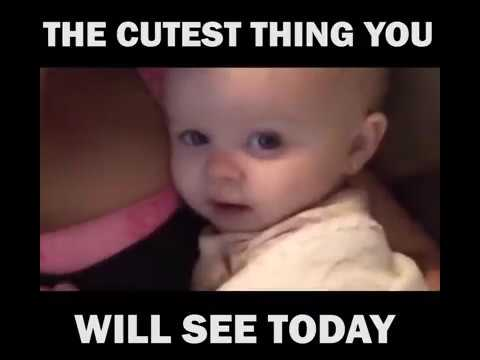 Cute Baby Says I Love You The Cutest Thing U Will See Today Youtube