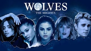 Download WOLVES | THE MEGAMIX feat. Selena Gomez,Ariana Grande,Camila Cabello,Justin Bieber & MORE MP3 song and Music Video