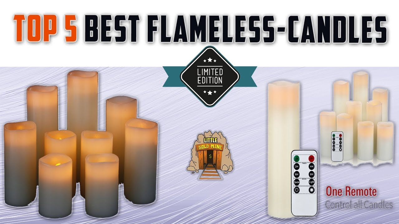 Top 5 Best Flameless Candles Review 2018