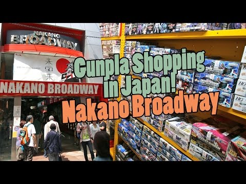 653 - Gunpla Shopping in Japan: Nakano Broadway