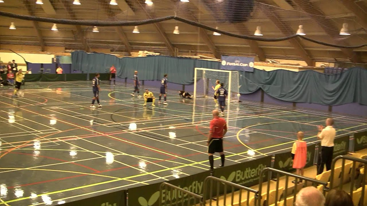 Ilves FS Tampere Finland UEFA Futsal Cup Scotland Perth Timur Inapshba AMAZING OVER-HEAD KICK ...
