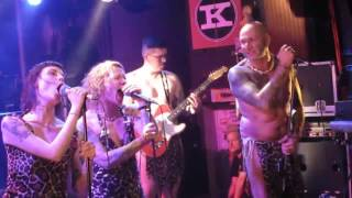 THE GIRAFFE MEN - Psycho Beast - Hamburg Knust 24.02.2017