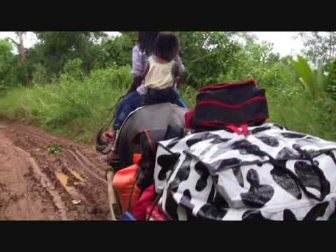 FILIPINA WIFE RIDING THE CARABAO JAMES BOND IN THE MUD EXPAT PHILIPPINES LIFESTYLE VIDEO