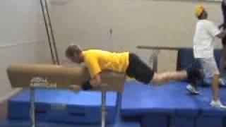 ECU Pre-Season Pole Vault Training