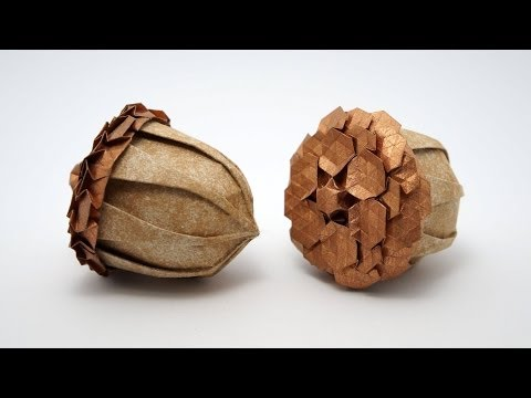 Origami Acorn (Beth Johnson) + Spread Hex Tessellation (Eric