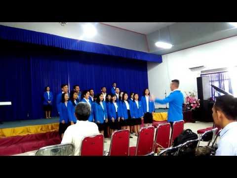 Paduan suara angkatan 2015 B STT Jaffray Makassar NKI 259 Yesus, Yesus Gembala Bagiku