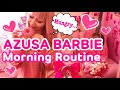 MORNING ROUTINES of AZUSA BARBIE♡ BARBIE ROOM TOUR