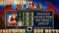 Massive Win Queen And The Dragon Free Games Emu Casino Slot Machine