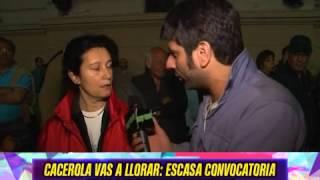 ESCASA CONVOCATORIA, CACEROLAZO 13N - 14-11-14