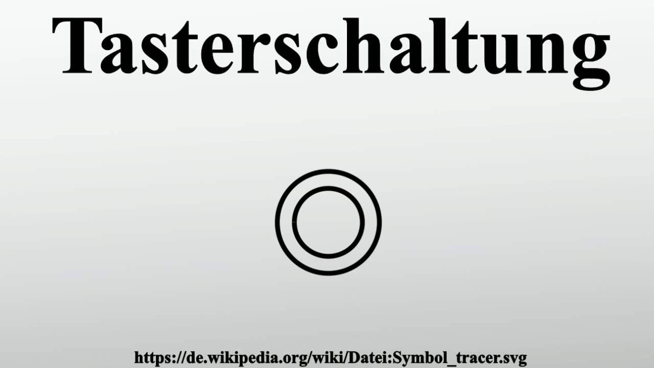 Tasterschaltung - YouTube