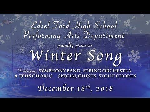Edsel Ford High School 2018 Winter Song Concert