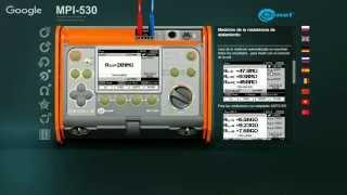 SEGURIDAD ELECTRICA - Probadores de Diferenciales y Equipo Multifunciones SONEL MPI-530