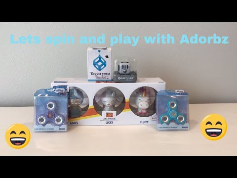 disney-emojis-spinner-,-funko-pop-and-fidget-spinner-cube-toy-review