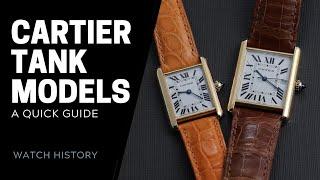 Cartier Tank Watch Models Buying Guide | SwissWatchExpo