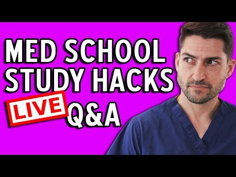 How to Study Like Top Med Students - LIVE Q&A