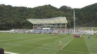 復興スタジアムで記念試合 釜石、ラグビーW杯で新設